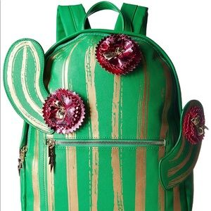NEW- Betsey Johnson Cactus Backpack 🌵🎒💕